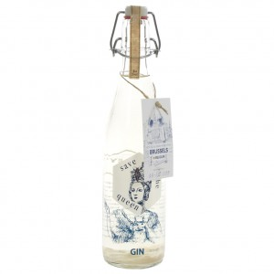 Save the queen gin Brussels  50 cl
