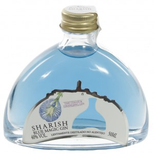 Sharish Blue Gin 40°  5 cl