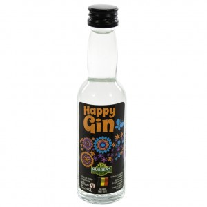 Happy Gin 40°  4 cl