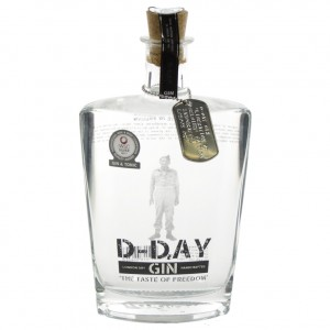 D-Day Gin 40,44%  70 cl   Fles