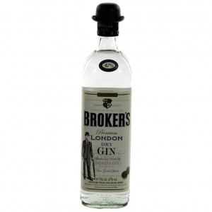 Broker's London Dry Gin  70 cl   Fles