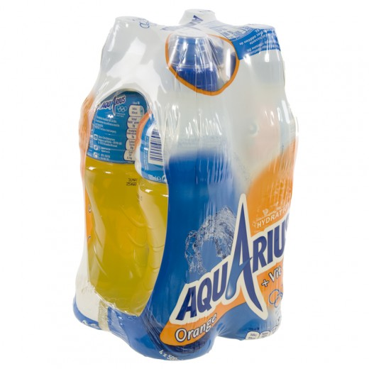 Aquarius  Orange  50 cl  Pak  4 st