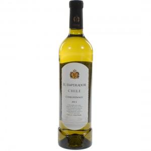 El emperador Chardonnay  Wit  75 cl   Fles