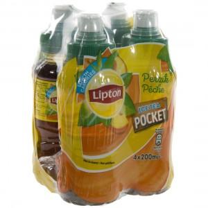 Lipton kids PET  Perzik  20 cl  Pak  4 st