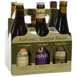 Authentic Trappist Beers  33 cl  6 Flessen