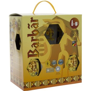 Barbar Geschenkverpakking  33 cl  4fles+ 1glas