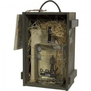 D-Day Gin in kist 40,44%  70 cl