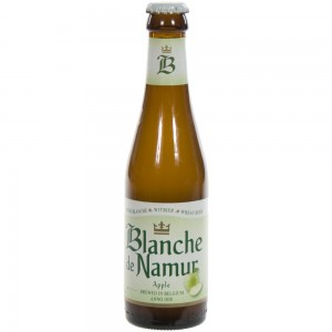 Blanche de Namur Apple  Wit  25 cl   Fles