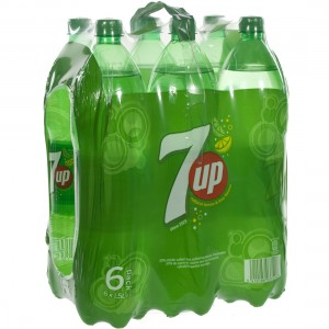 7 Up PET  Regular  1,5 liter  Pak  6 st