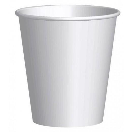 Kartonnen Koffiebeker wit  200 ml  Pak 50 st