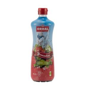 Ordal Siroop  Grenadine  70 cl