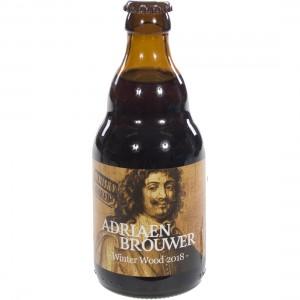 Adriaan Brouwer Winterwood  Donker  33 cl   Fles