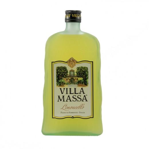 Limoncello Villa Massa 30%  1 liter   Fles