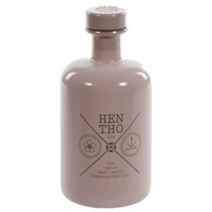 Hentho Pink Gin 44%  50 cl   Fles