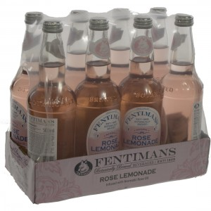 Fentimans tonic  Rose Lemonade  50 cl  Doos  8 st