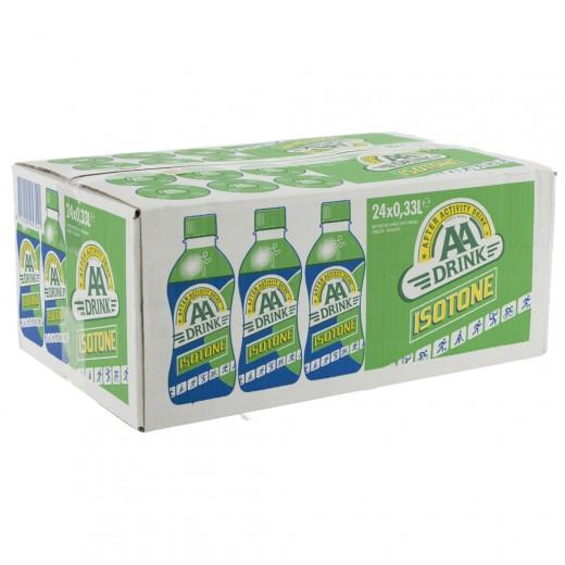AA energy drank  Citoen Isotone  33 cl  Doos 24 st