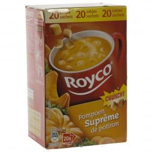 Royco soep doos  Pompoen  Doos 20st