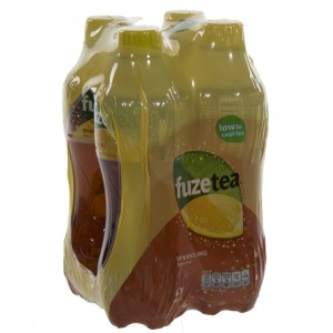 Fuze sparkling black tea PET  Black  Sparkling  40 cl