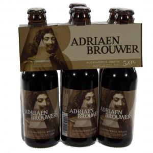 Adriaan Brouwer  Donker  25 cl  Clip 6 fl