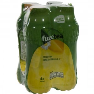 Fuze Green tea PET  Mango Chamomile  40 cl  Pak  4 st