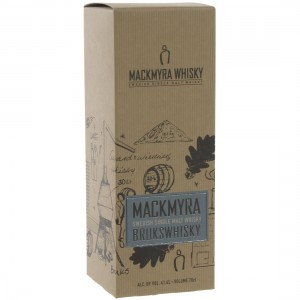 Mackmyra Brukswhisky 41,4%  70 cl   Fles