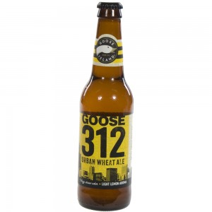 Goose 312 Urban Wheat Ale  Blond  35,5 cl   Fles