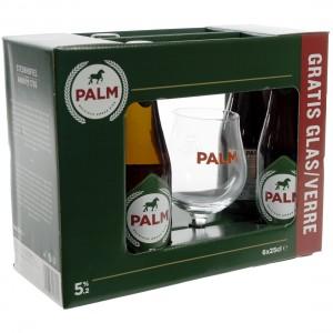Palm speciale Geschenk  25 cl  6fles+ 1glas