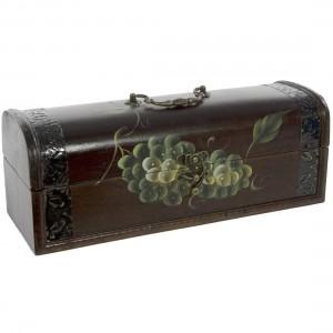 Geschenk Antieke kist Sybeau Cab.Sauv  75 cl  Kist 1fles