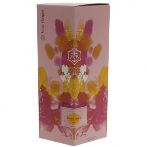 Veuve Clicquot geschenkverpakking  Rose  75 cl   Fles