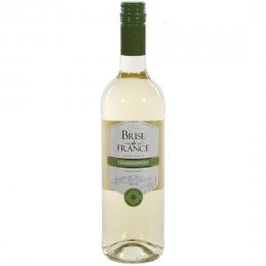 Brise de France VDP d' Oc Chardonnay 13.5%  Wit  75 cl   Fles