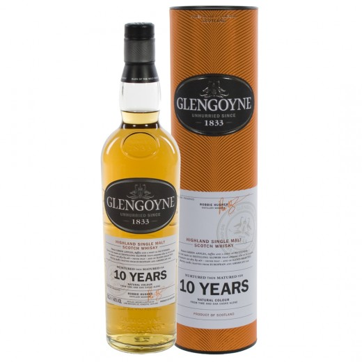 Glengoyne 10 Years old Whisky 40%  70 cl