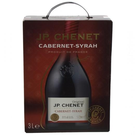 JP Chenet Cabarnet Syrah  Rood  3 liter  Vat