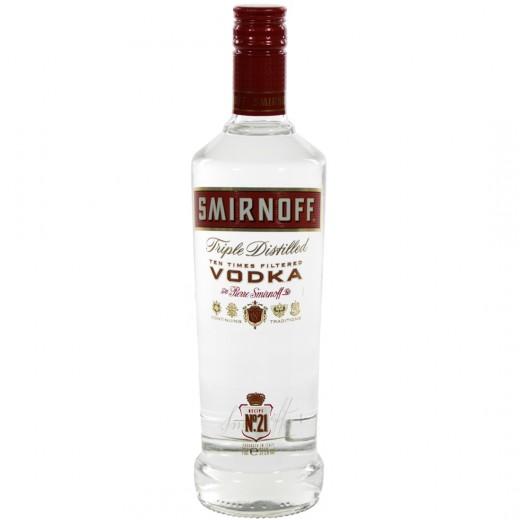 Smirnoff premium red 21  37,5%  70 cl