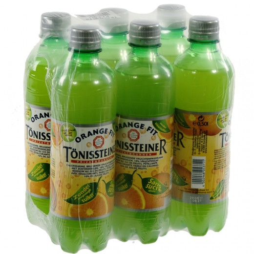 Tonissteiner limo PET  Orange  50 cl  Pak  6 st