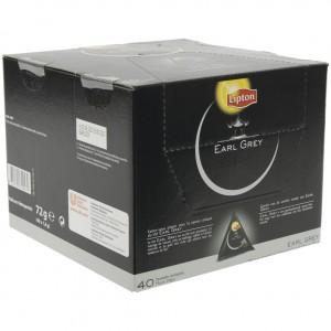 Lipton premium earl grey  Doos 40 st