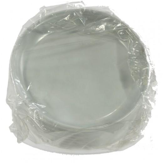 Plastiek Bord 1 vak  Pak 100 st  18 cm