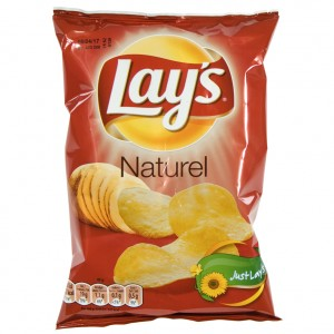 Lays Chips  Naturel   Stuk  40 g