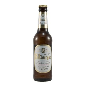 Bitburger pils  Wit  33 cl   Fles