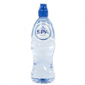 Spa PET  Plat  75 cl sportdop   Fles