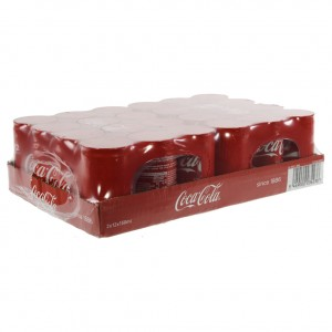 Coca Cola  Regular  15 cl  Blik 24 pak