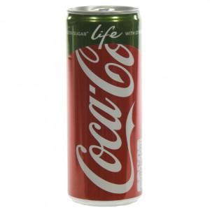 Coca Cola  Life  25 cl  Blik