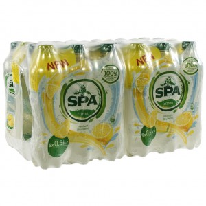 Spa limonade PET  Citroen  50 cl  Pak 24 st