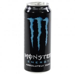 Monster  Absolutely Zero  500 ml  Blik