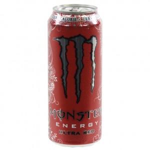 Monster  Ultra Red  50 cl  Blik