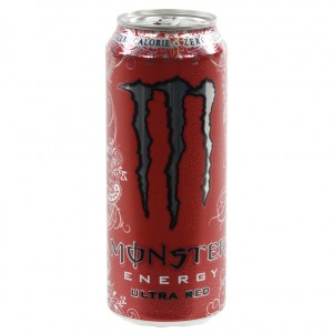 Monster  Ultra Red  500 ml  Blik