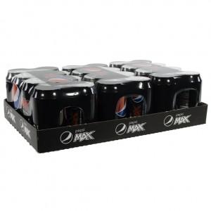 Pepsi BLIK  Max  33 cl  Blik 24 pak