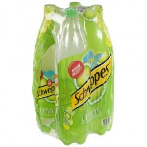 Schweppes Lemon PET  1,5 liter  Pak  4 st