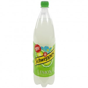 Schweppes Lemon PET  1,5 liter   Fles