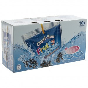 Capri-Sun Fruity Water  Zwarte bessen  20 cl