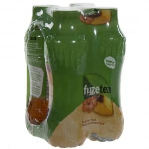 Fuze Tea PET  Black Peach Hibiskus  40 cl  Pak  4 st
